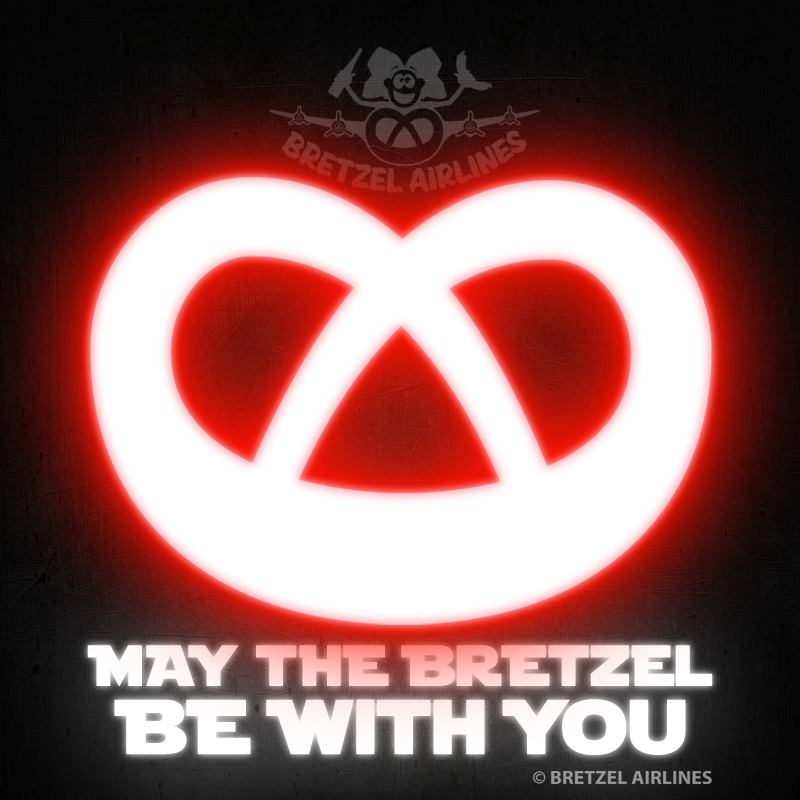 May the bretzel be with you