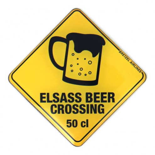 Magnet Elsass Beer Crossing