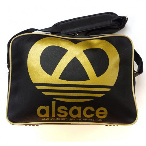 Sac traveller - Alsace Athletic - noir