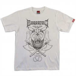 T-shirt homme Beerking blanc
