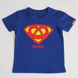 T-shirt enfant Super Bretzel bleu royal