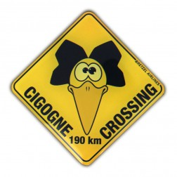 Magnet Cigogne Crossing