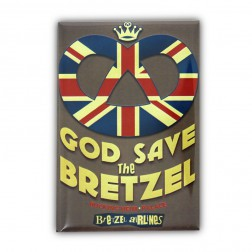 Magnet God Save the Bretzel