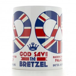 Mug God Save the Bretzel