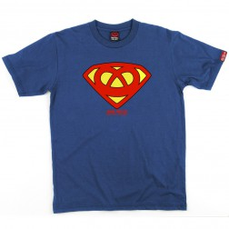 T-shirt homme Super Bretzel - bleu royal