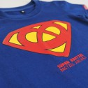 T-shirt enfant Super Bretzel - bleu royal